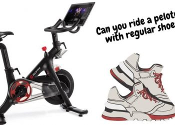 can you ride a peloton with regular shoes